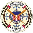 Official Seal of Flotilla 12-91, District 11NR