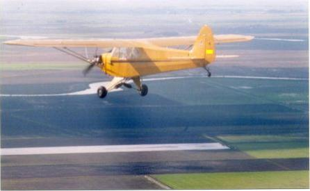 Randy Parent, Piper J3 Cub
