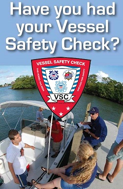 USCG Auxiliary vessel safety check infographic