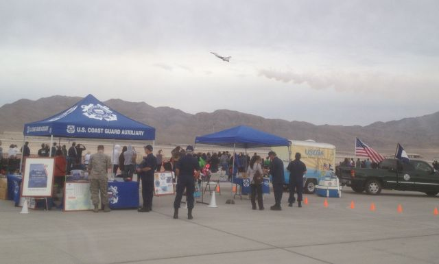 PA event at the Nellis Air Show