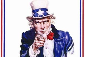 Uncle Sam pointing at you