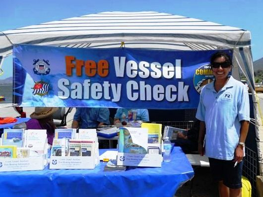 vessel safety check display