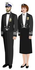 Mess Dress Blue