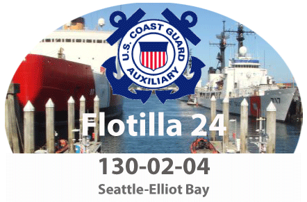 Flotilla 130-03-02 and USCG Base Seattle