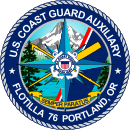 Official Seal of Flotilla 7-6, District 13