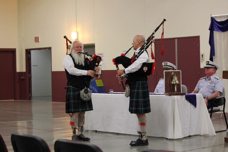 The Caledonian Pipes and Drums