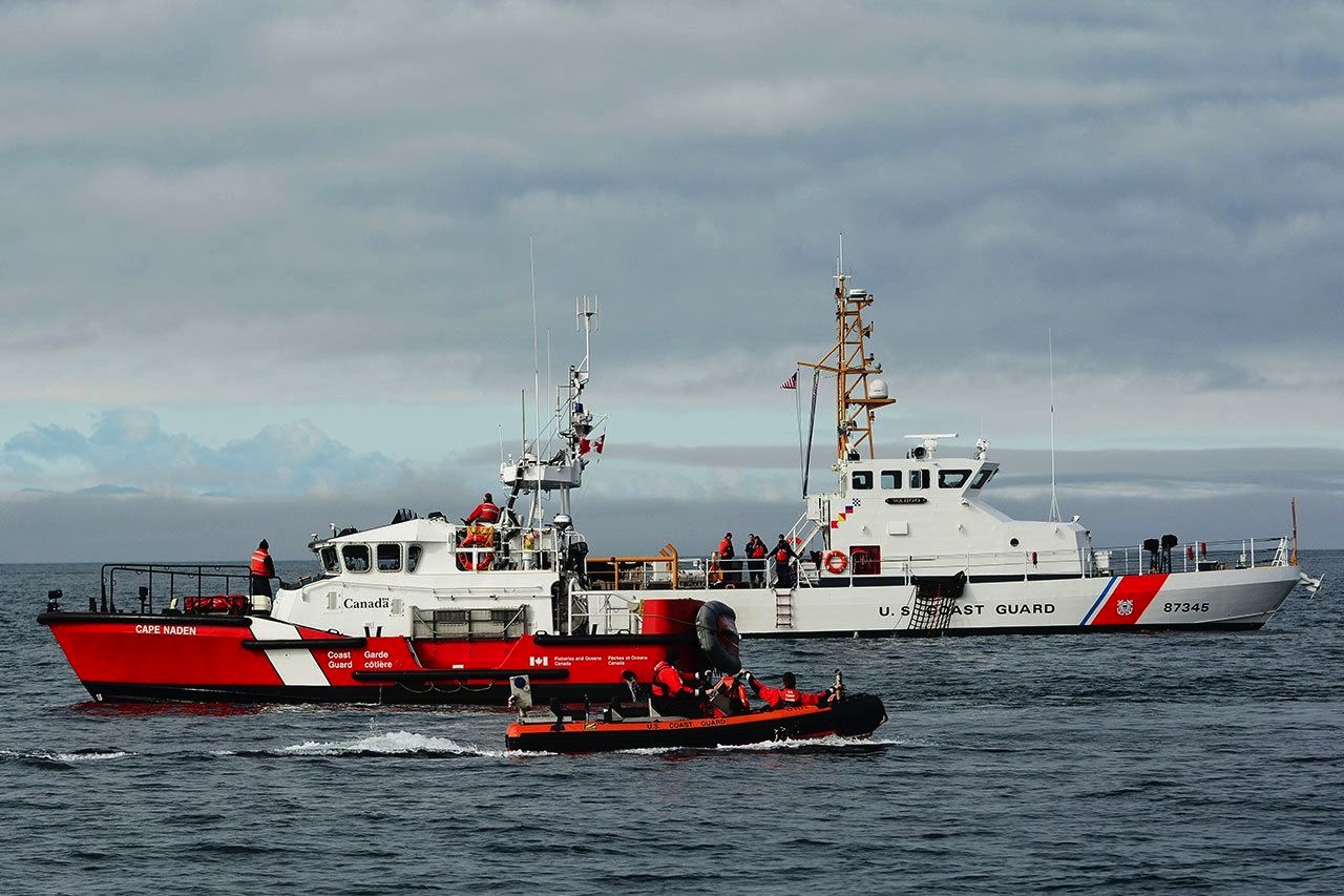 US and Canada Coast Guard
